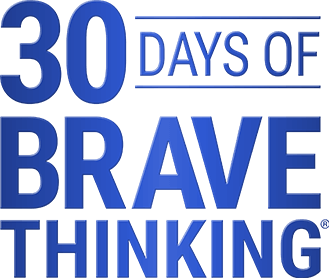 30 Days of Brave Thinking Logo
