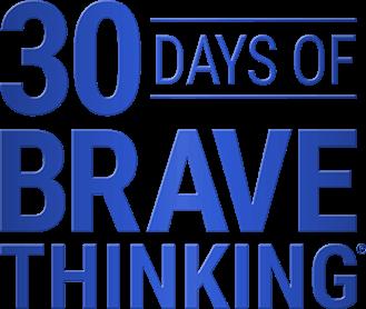 30 Days of Brave Thinking Logo